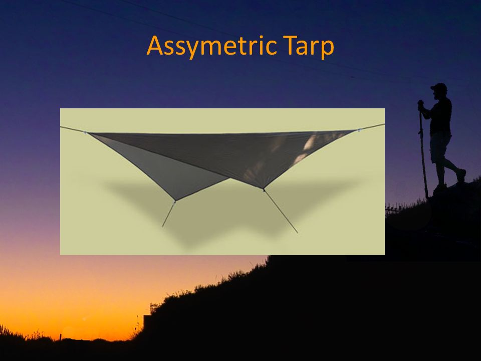 Assymetric Tarp