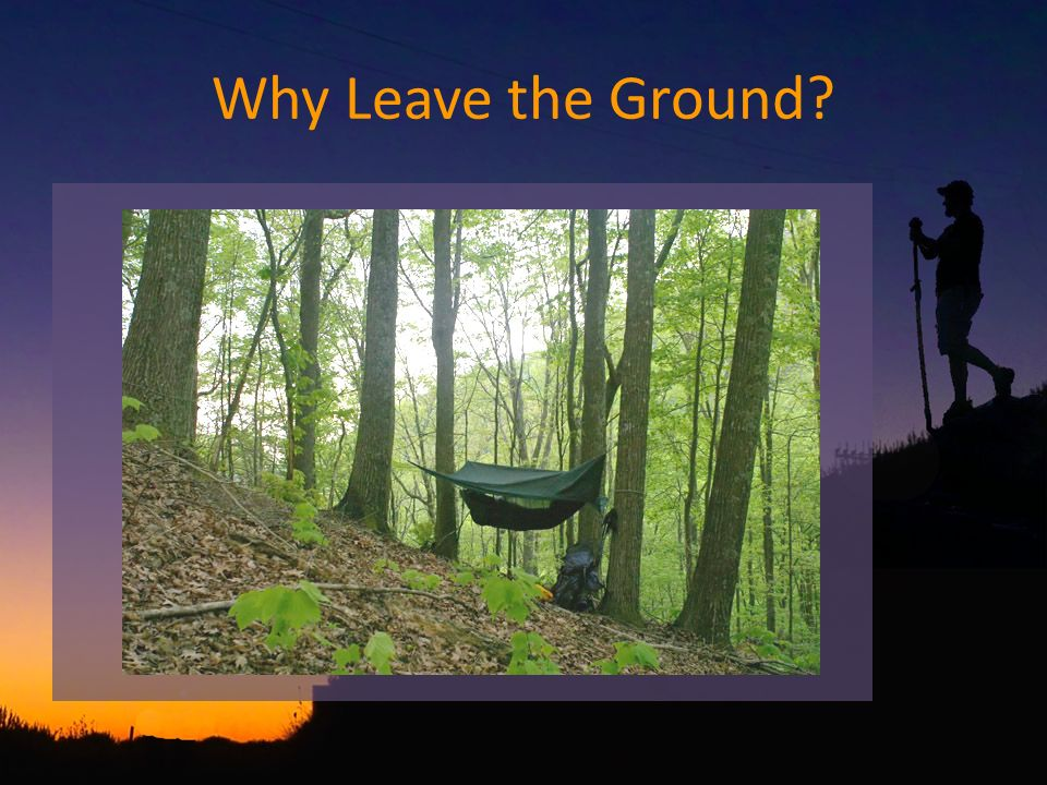 Why Leave the Ground?
