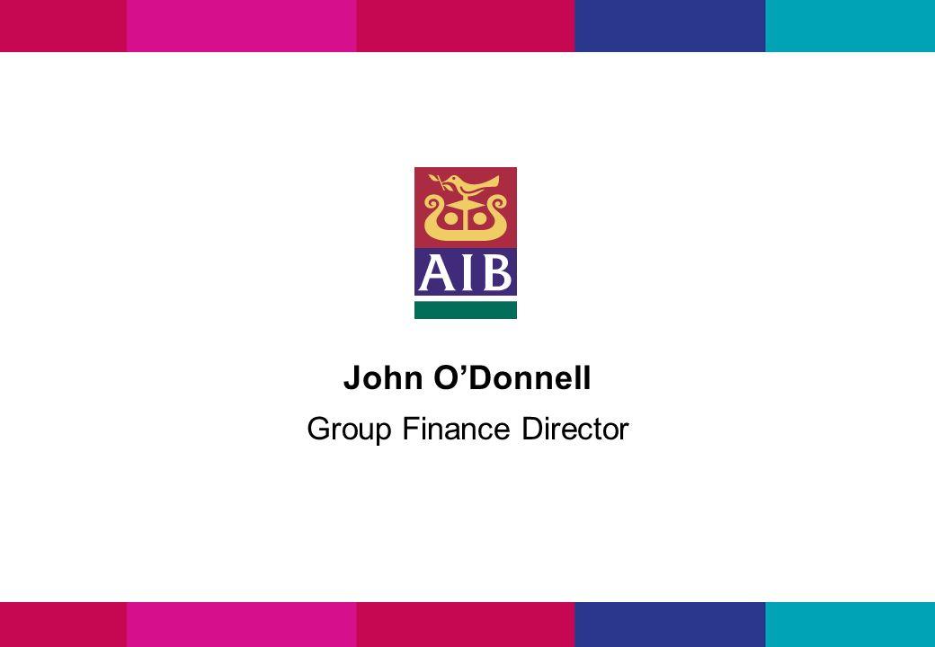 John ODonnell Group Finance Director