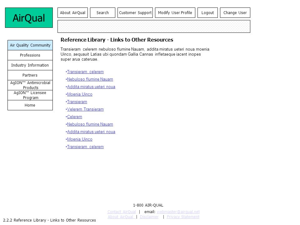 2.2.2 Reference Library - Links to Other Resources Reference Library - Links to Other Resources Transieram celerem Nebuloso flumine Nauam Addita mirat