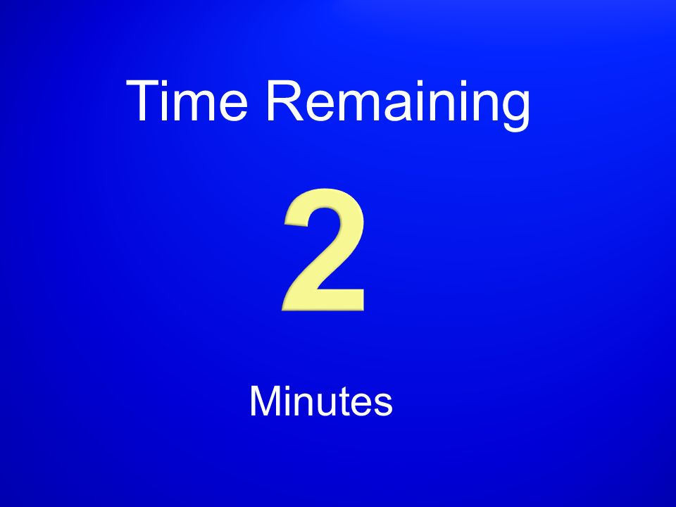 Time Remaining Minutes