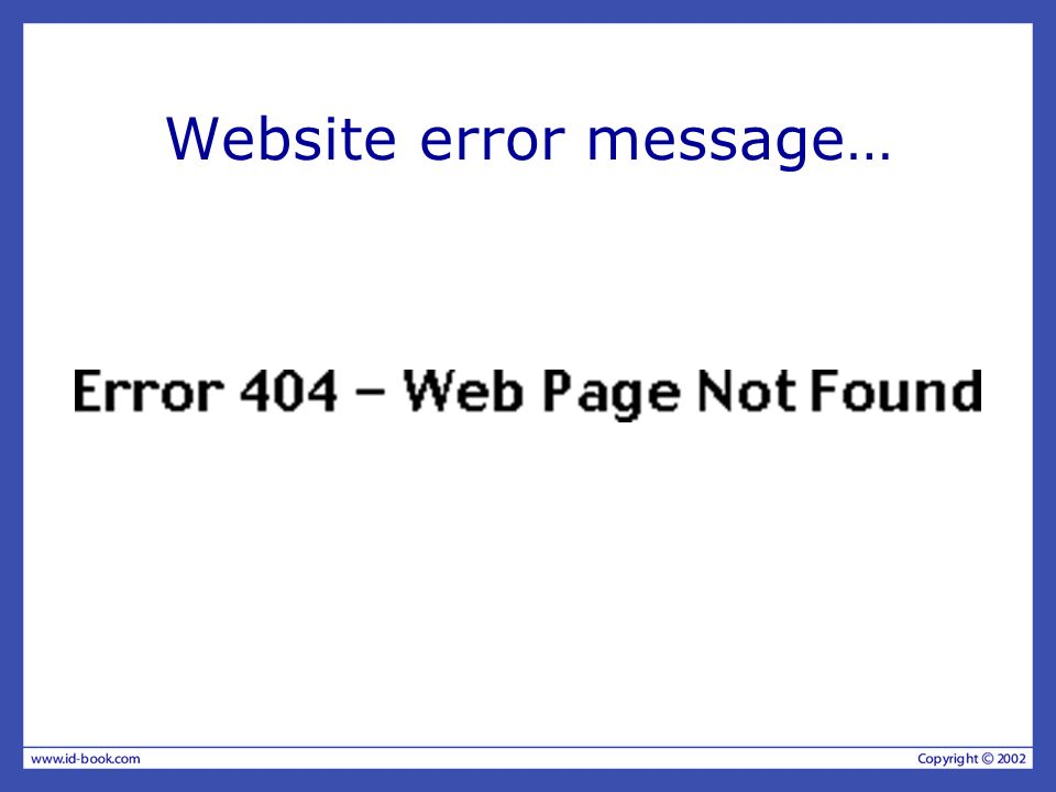 More helpful error message The requested page /helpme is not available on the web server.