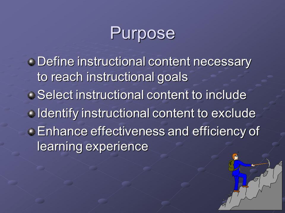 Attitudes: Goal analysis Attitude Goal Indicator Behavior Indicator Behavior Indicator Behavior Indicator Behavior Indicator Behavior