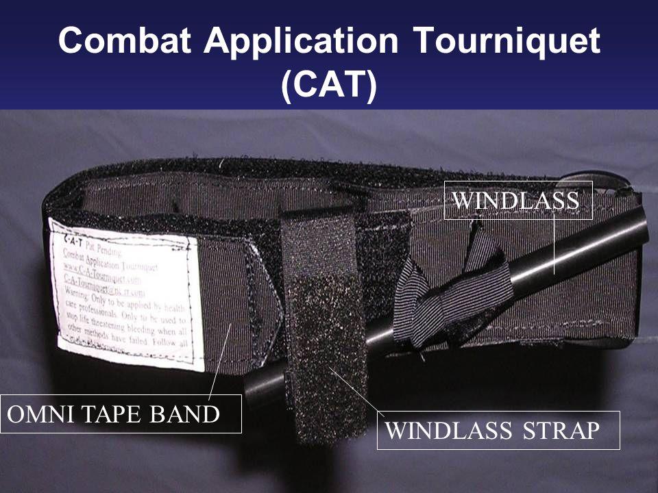 Combat Application Tourniquet (CAT) WINDLASS OMNI TAPE BAND WINDLASS STRAP