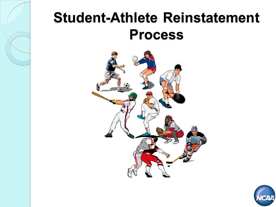 Student-Athlete Reinstatement Process