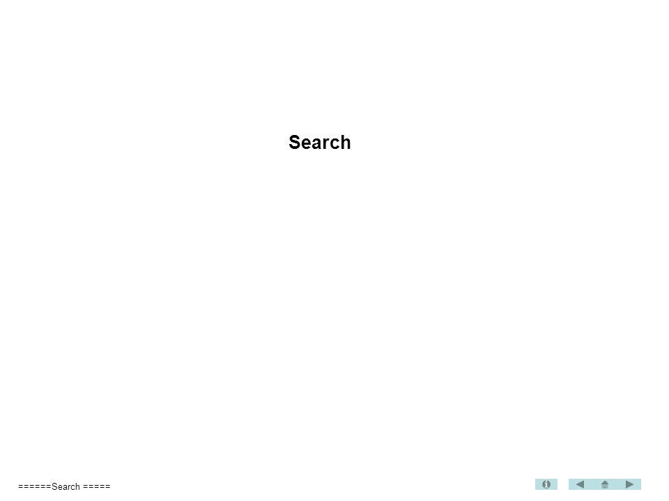 ======Search ===== Search