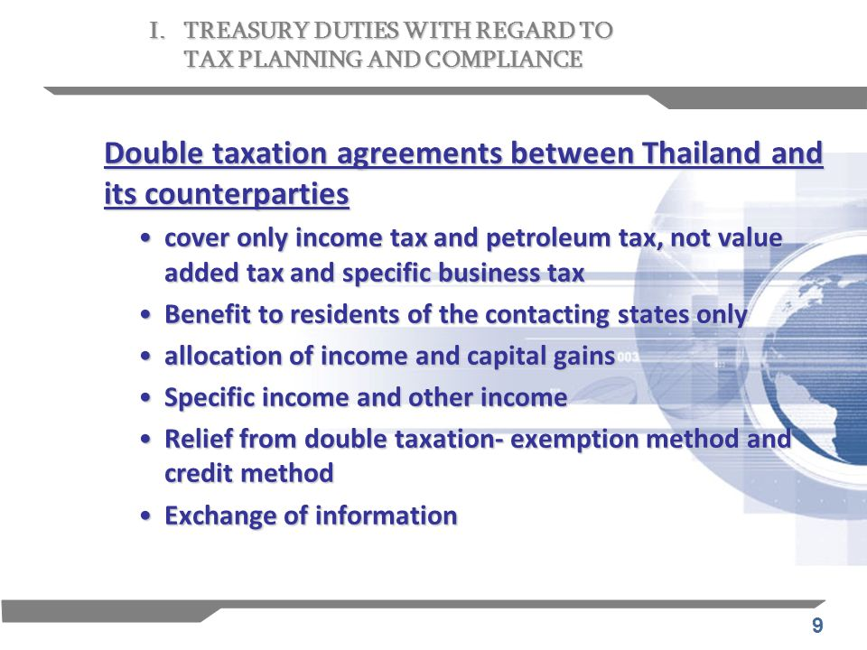 60 Existing laws and regulations on taxation have been complied with.