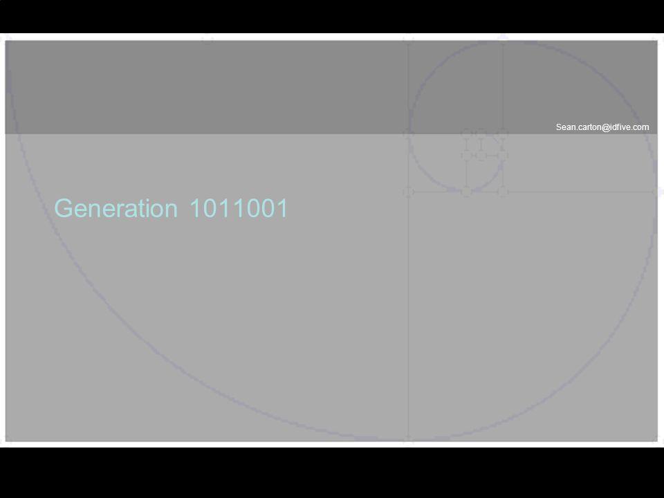 Generation 1011001