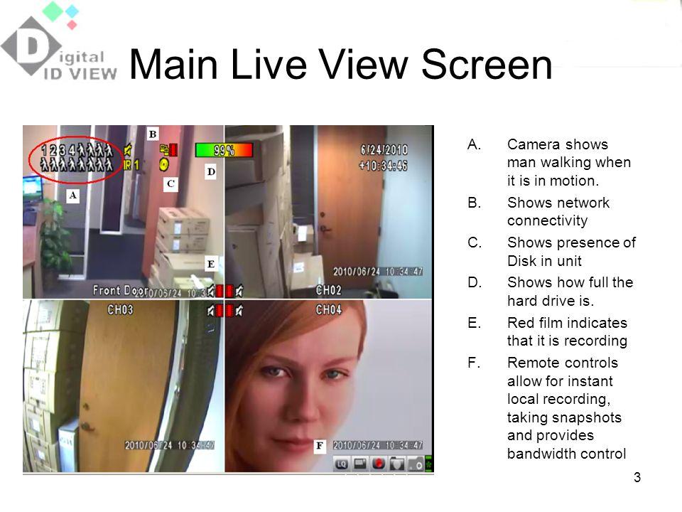 4 Main Menu Right click screen to bring up top menu bar.