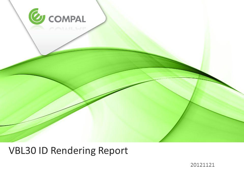 VBL30 ID Rendering Report 20121121