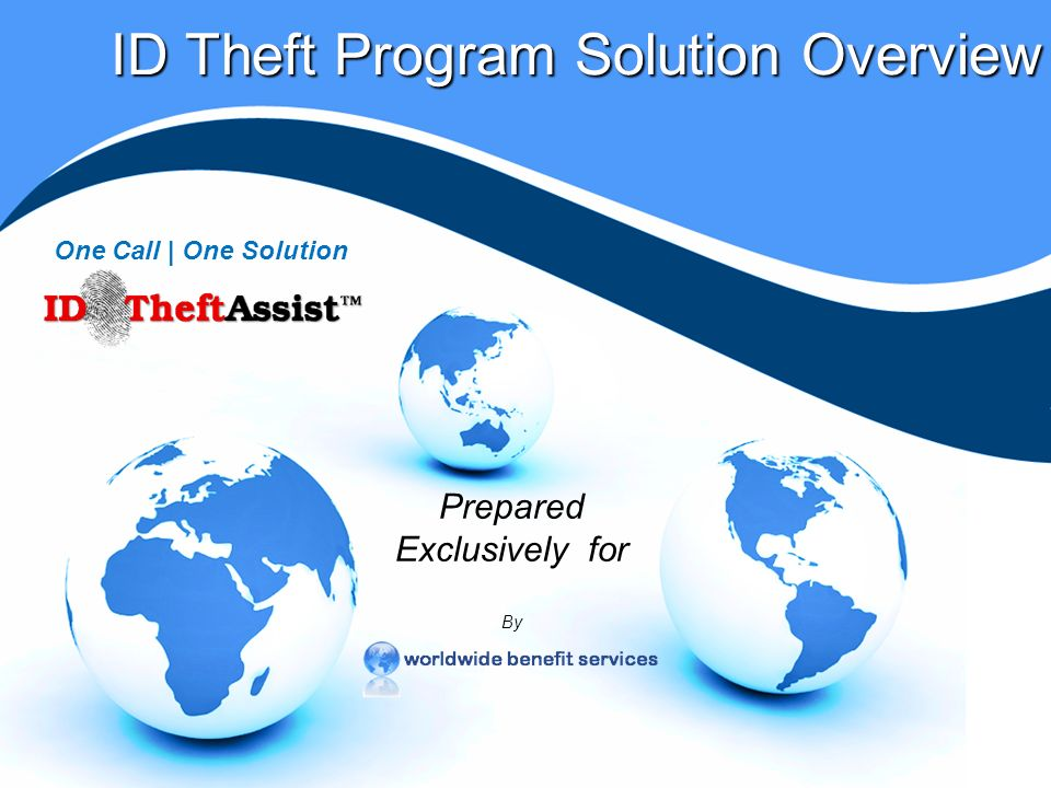 The Problem | Identity Theft On average, over 9 million people become victims of identity theft annually Source: Better Business Bureau/Javelin Research 2006 Report Total yearly identity theft losses average over $50 billion Source: Better Business Bureau/Javelin Research Victims spend 300 million hours each year resolving ID Theft related problems Source: US Federal Trade Commission Report Depending on severity, resolution time range is 5 – 600 or more hours per incident; the average is 175 hours Source: US General Accounting Office Over 85% of all identity theft victims are between 18 and 59 Source: US General Accounting Office Annually theres a 1 in 25 chance that youll become an identity theft victim - one identity is compromised every 4 seconds Source: Better Business Bureau/Javelin Research 2006 Report In 2005 there were over 150 major incidents affecting more than 57 million people in the U.S Source: Federal Trade Commission and The Identity Theft Resource Center studies