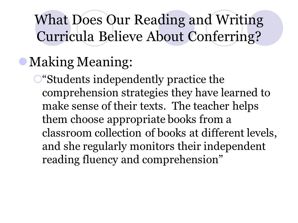 What Do We About Believe About Conferring.