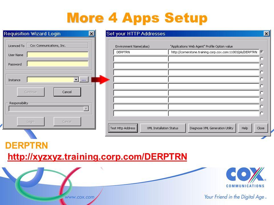 DERPTRN http://xyzxyz.training.corp.com/DERPTRN More More 4 Apps Setup