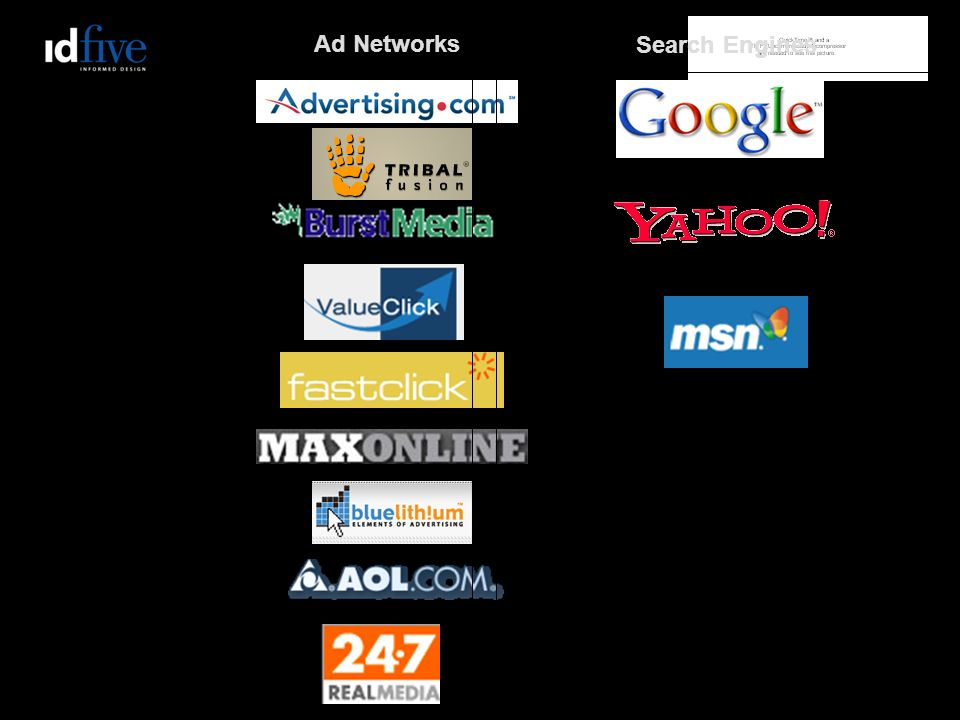 Ad Networks Search Engines