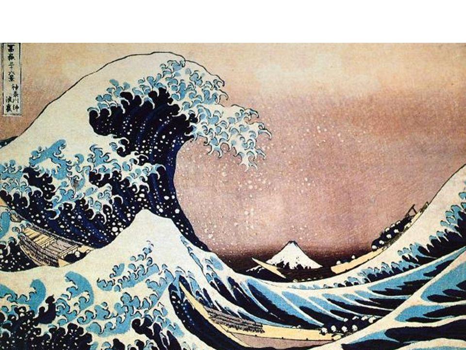 Katsushika Hokusai, The Great Wave off Kanagawa, from Thirty-Six Views of Mount Fuji series, Edo period, ca. 1826-1833, woodblock print