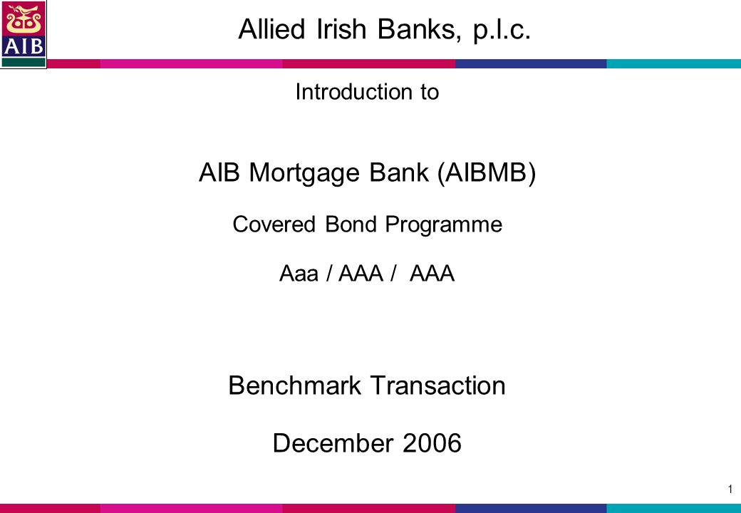 1 Allied Irish Banks, p.l.c.
