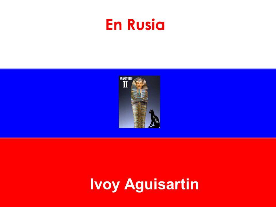 En Rusia Ivoy Aguisartin