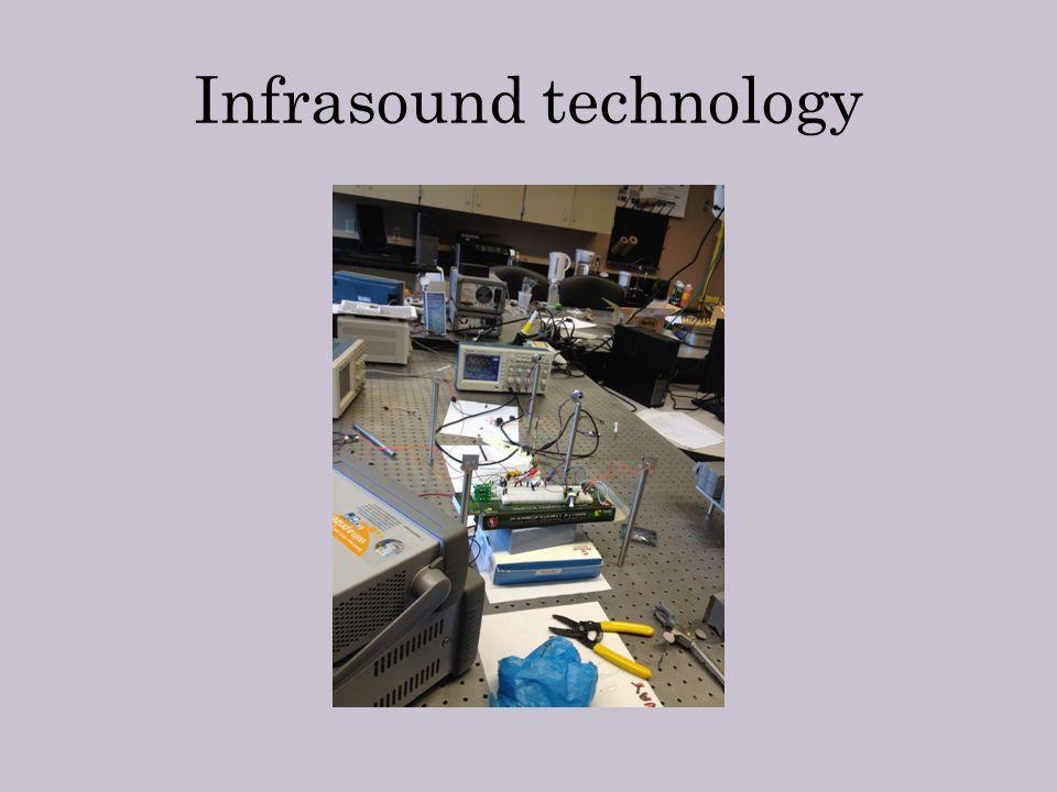 Infrasound in the lab