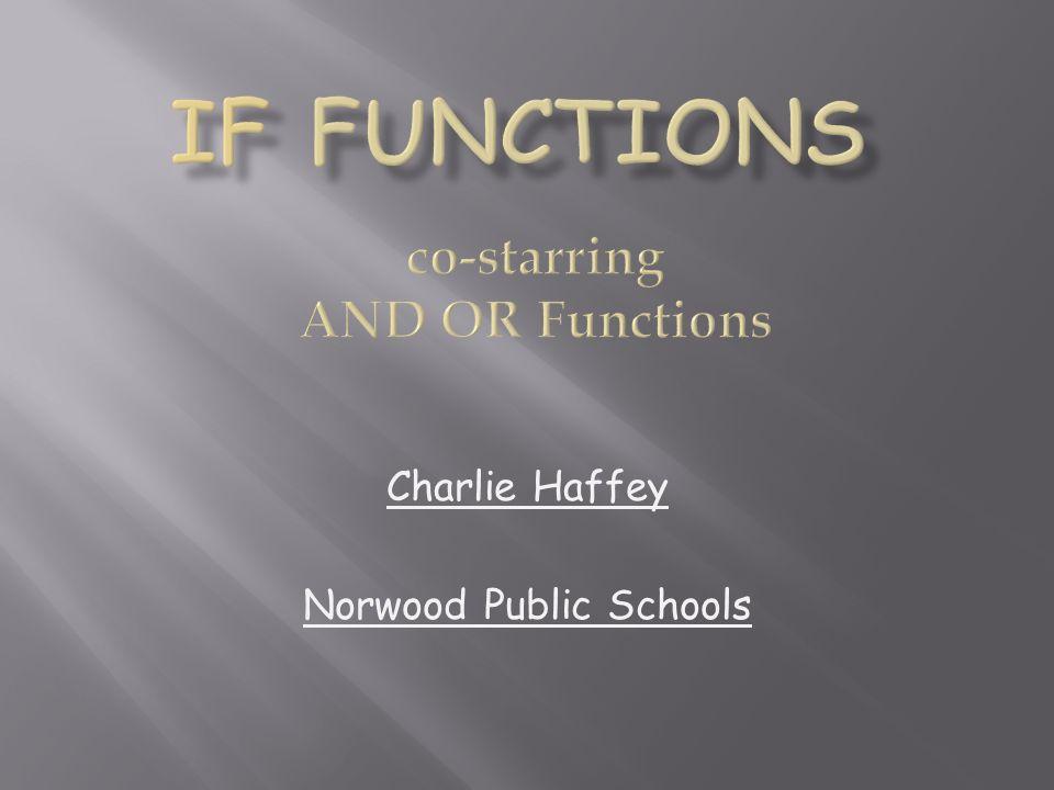 Charlie Haffey Norwood Public Schools