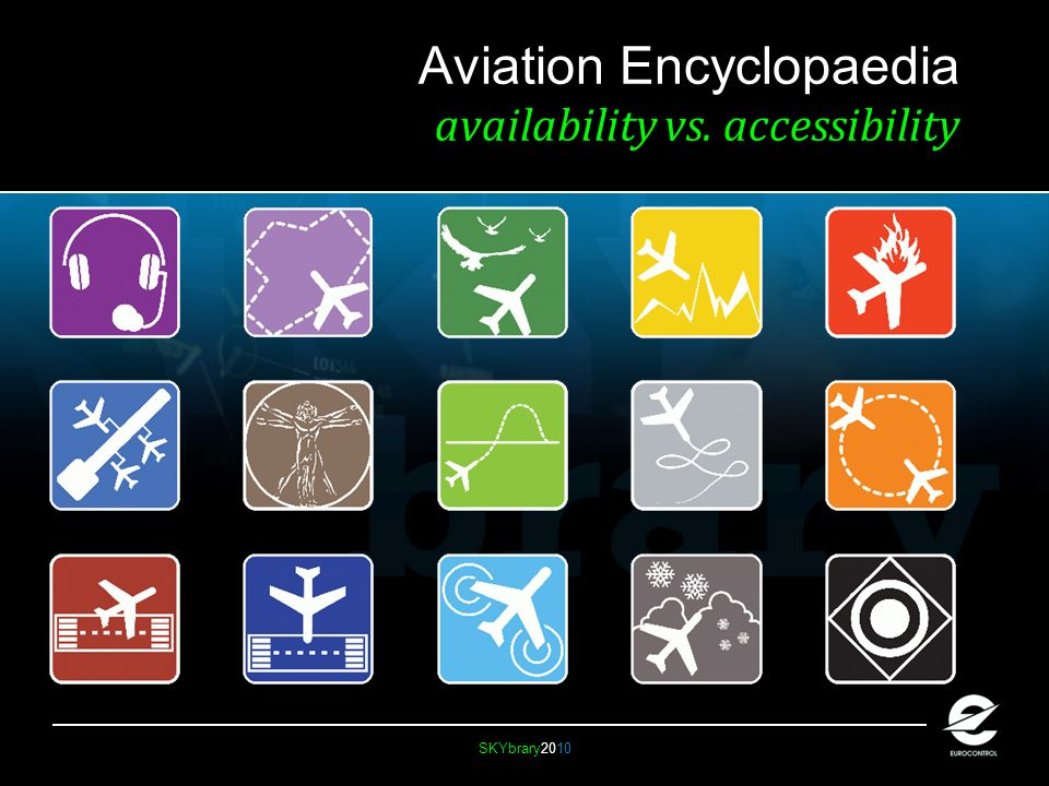 SKYbrary2010 Aviation Encyclopaedia availability vs. accessibility
