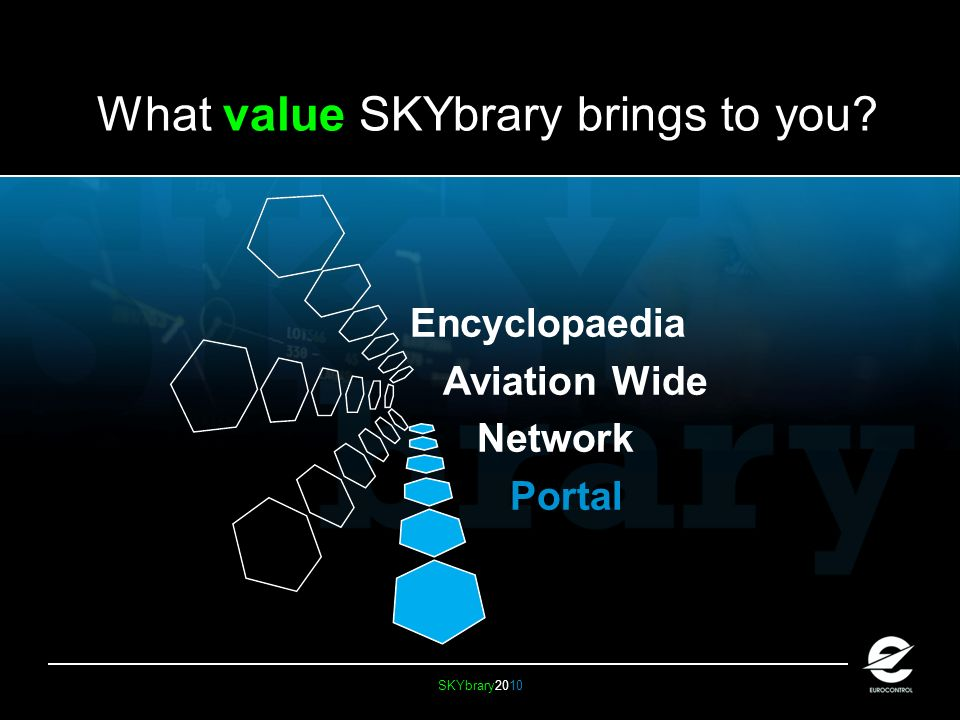 SKYbrary2010 What value SKYbrary brings to you Encyclopaedia Aviation Wide Network Portal