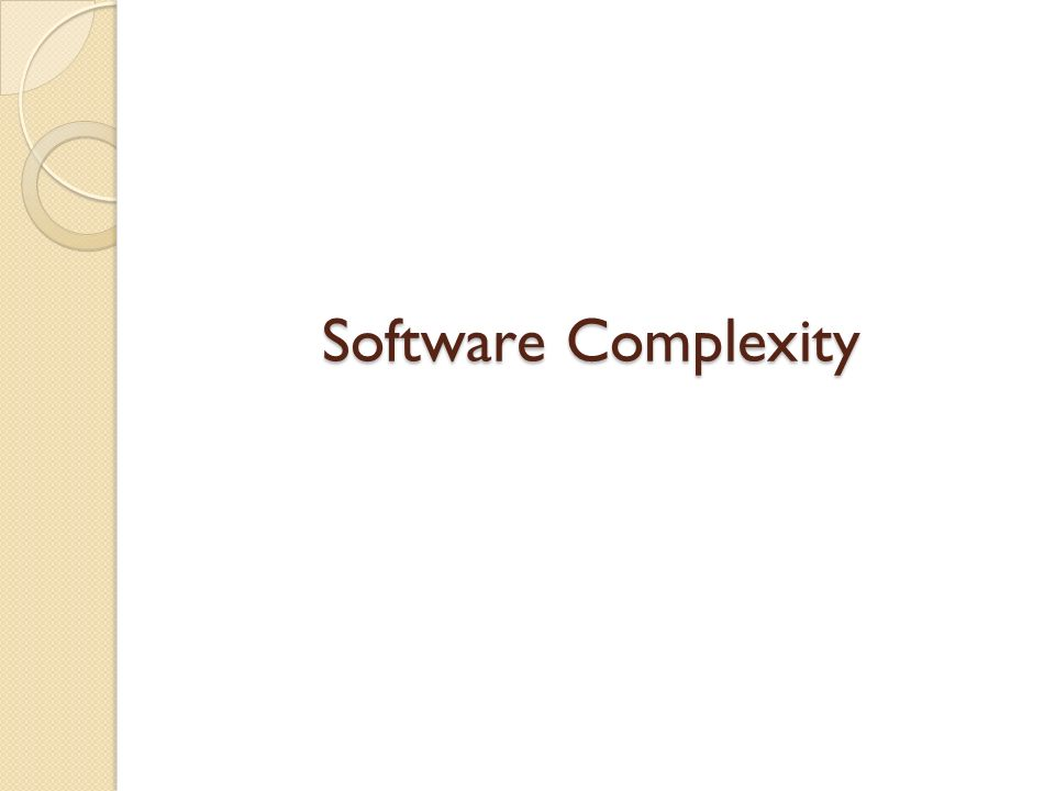 Contributing Factors Due to the inherent complexity of large software systems, such as those used for the internet, it is difficult to make them completely secure & error- free.