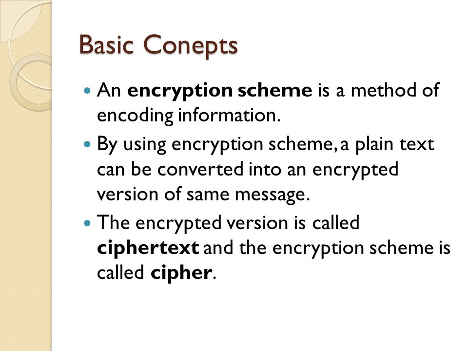 Hashing Algorithms Hashing algorithms are used to verify message integrity.