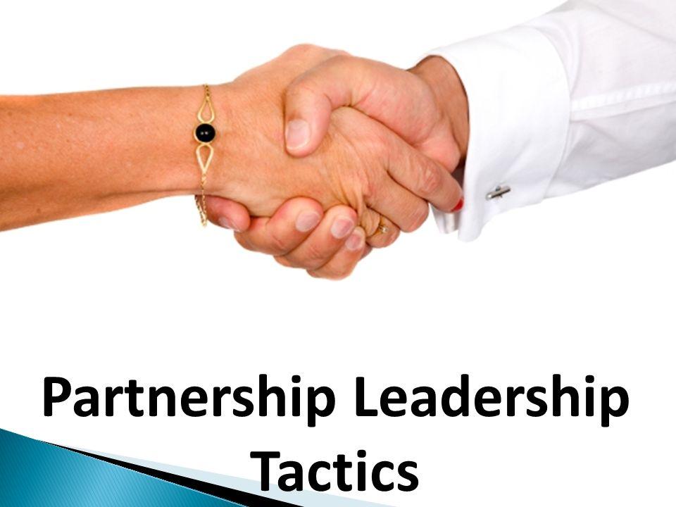 Partnership Leadership Tactics