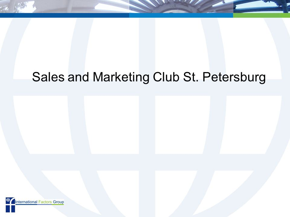 Sales and Marketing Club St. Petersburg