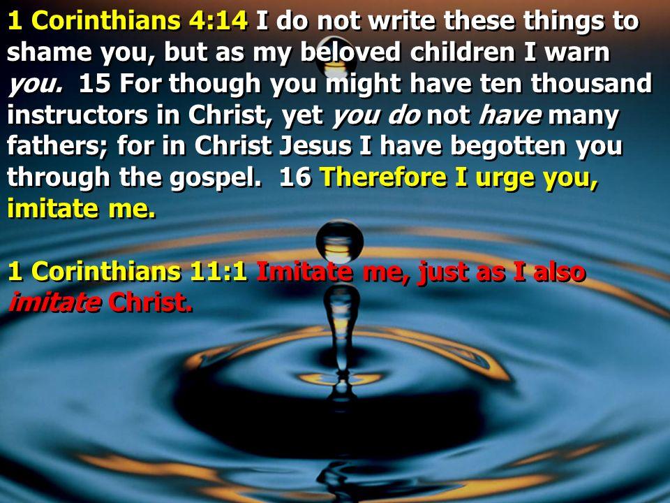 1 Corinthians 15:33 Do not be deceived: