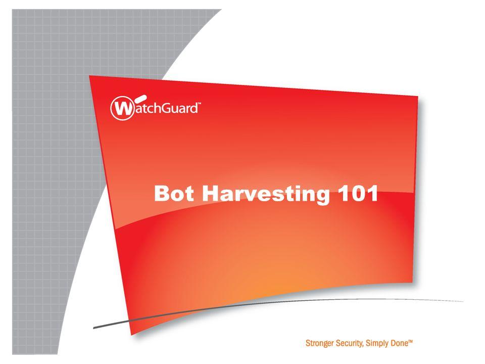 Bot Harvesting 101