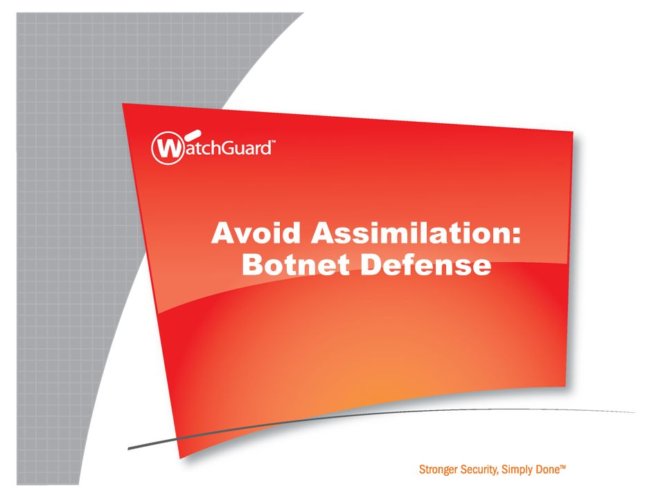 Avoid Assimilation: Botnet Defense