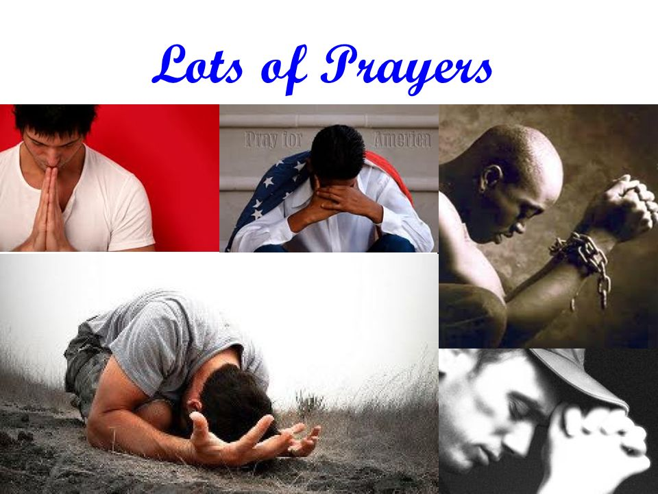 Lots of Prayers 30