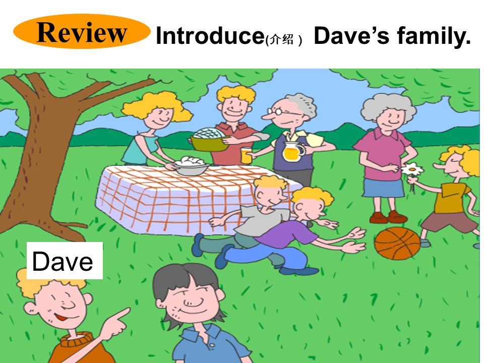 Review Dave Introduce ( Daves family.