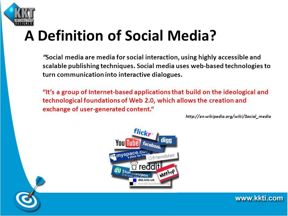 A Definition of Social Media.