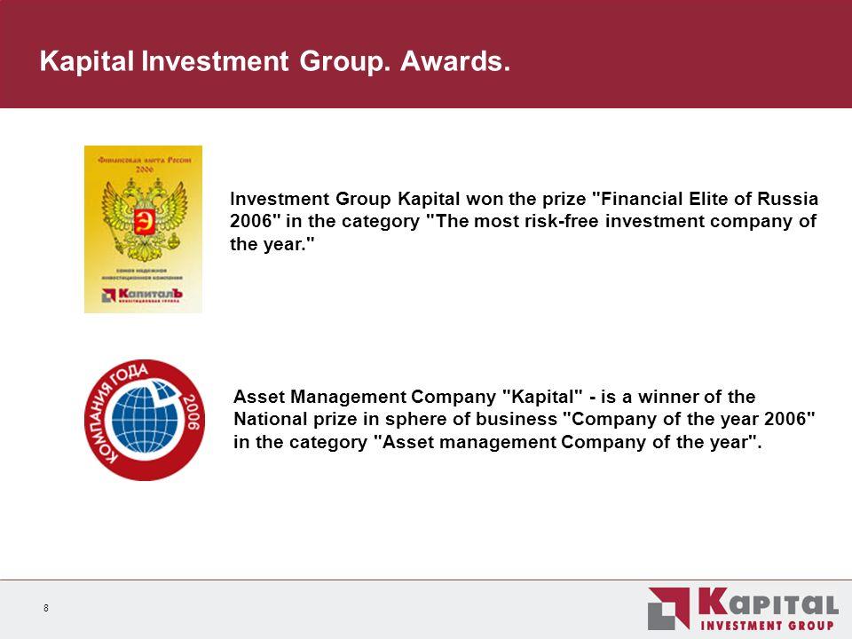 9 Asset Management Structure Financial assets under management 2004, $ mn 2005, $ mn 1H06, $ mn Asset management6711 3071 738 Pension funds4427681 045 Unit investment trusts281919 Total1 1142 0832 801 0 400 800 1 200 1 600 2 000 2 400 2 800 200420051H06 unit investment trusts pension funds asset management