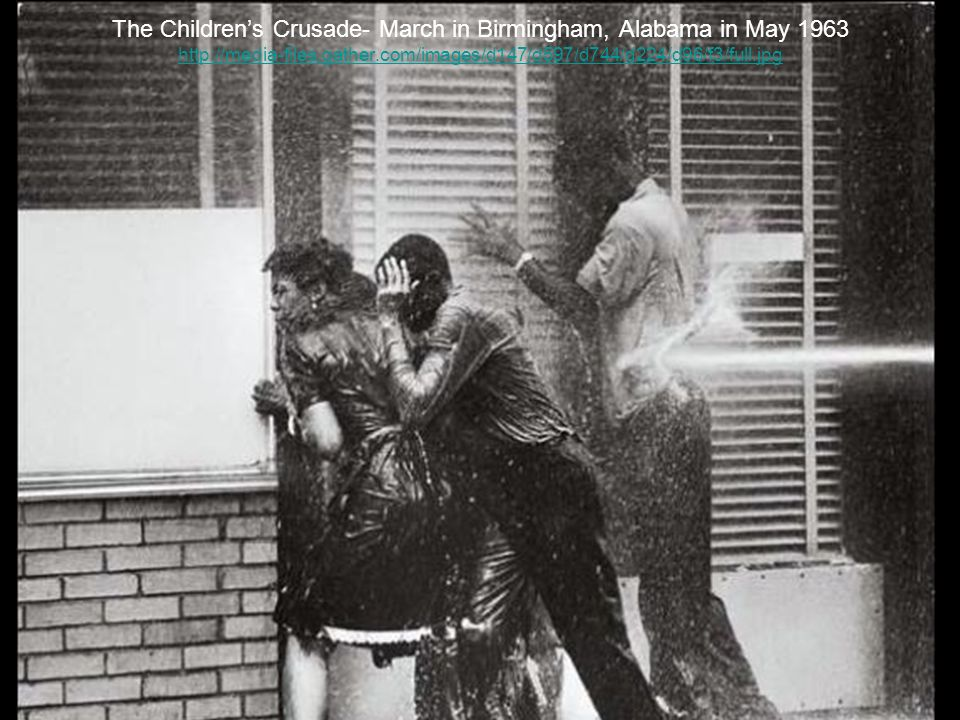 The Childrens Crusade- March in Birmingham, Alabama in May