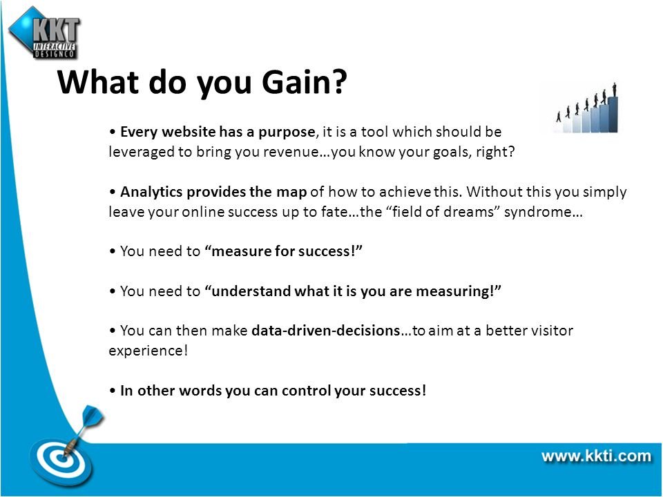 What do you Gain.