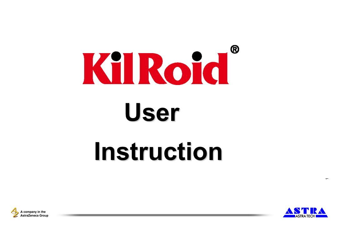1 User Instruction Instruction