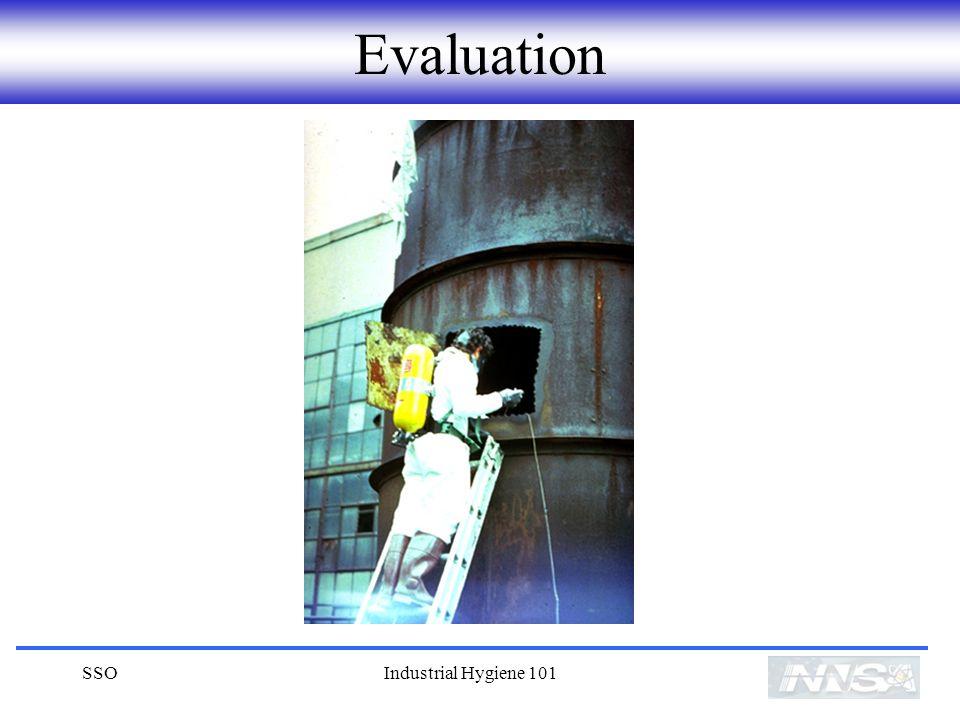 SSOIndustrial Hygiene 101 Evaluation