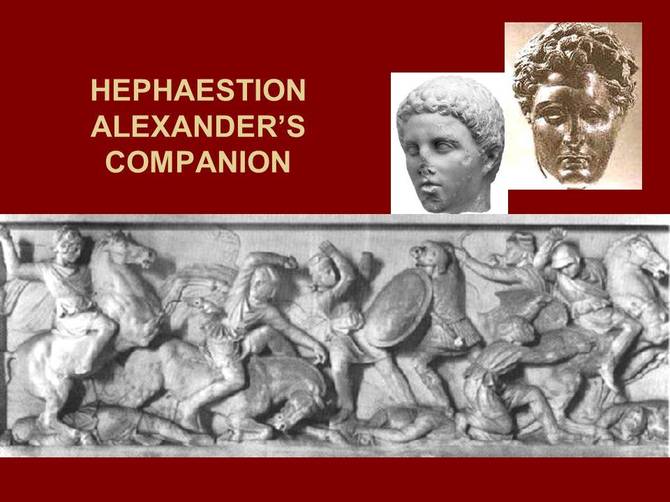 HEPHAESTION ALEXANDERS COMPANION