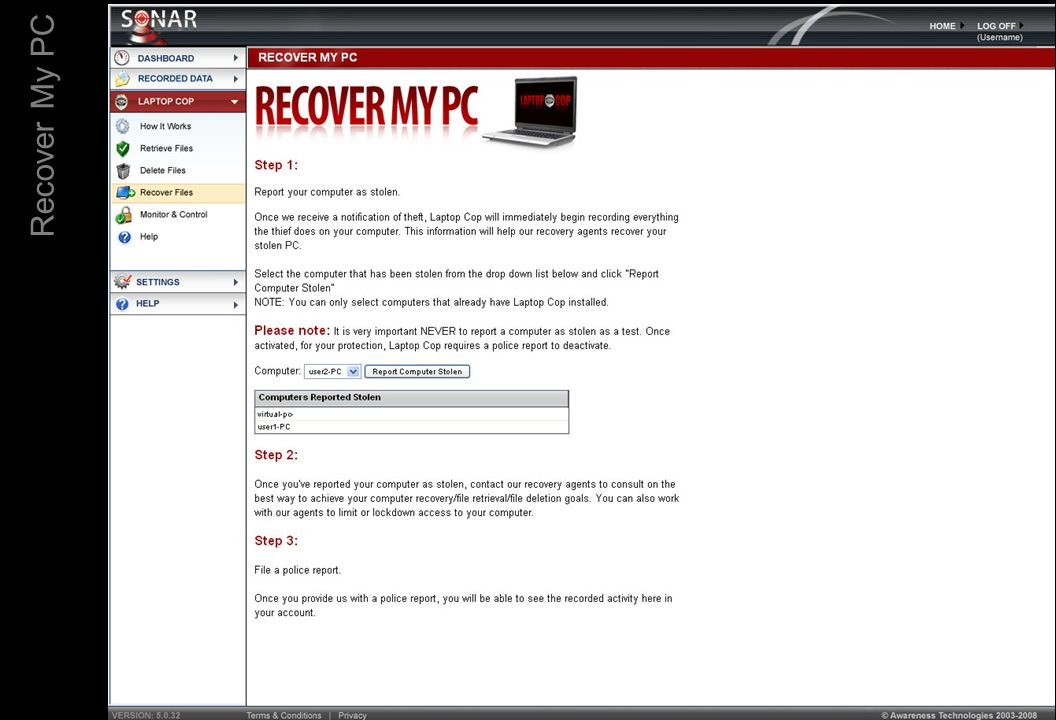 Recover My PC