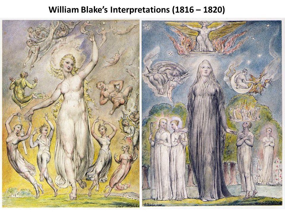 William Blakes Interpretations (1816 – 1820)
