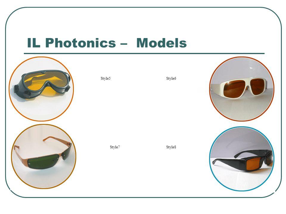 IL Photonics – Models Style5Style6 Style7Style8