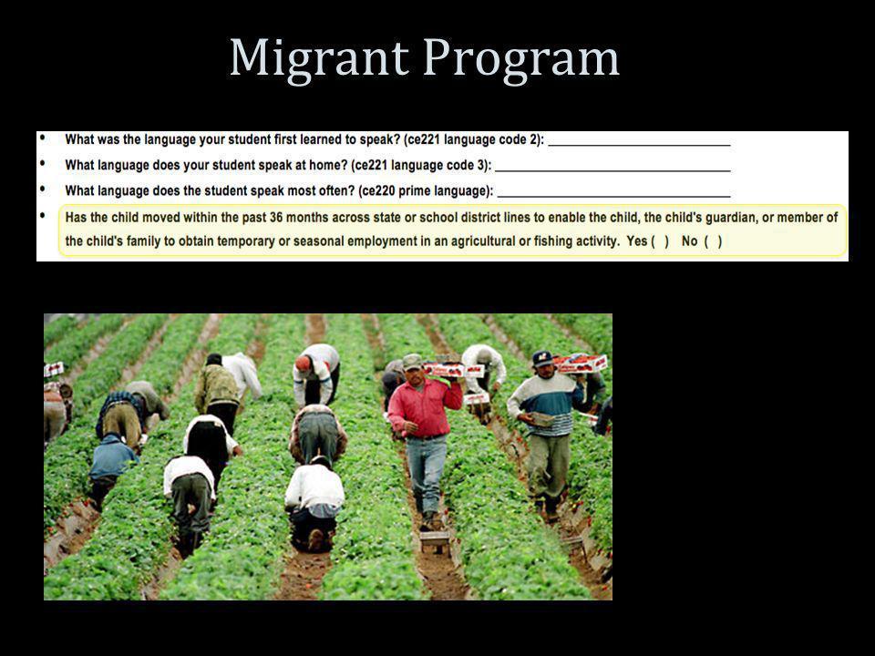 Migrant Program