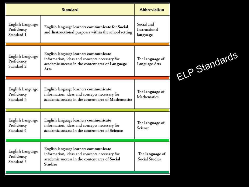 ELP Standards