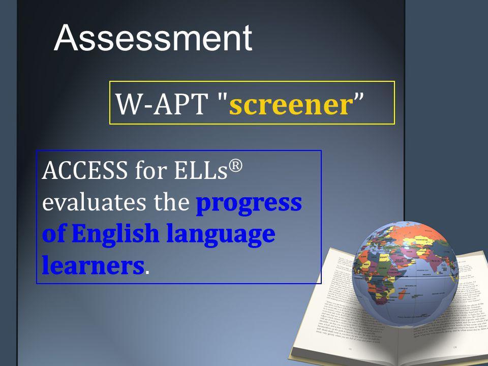 W-APT screener Assessment