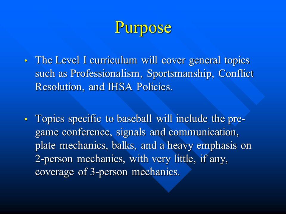 Designations: The Plate umpire is designated as U1.