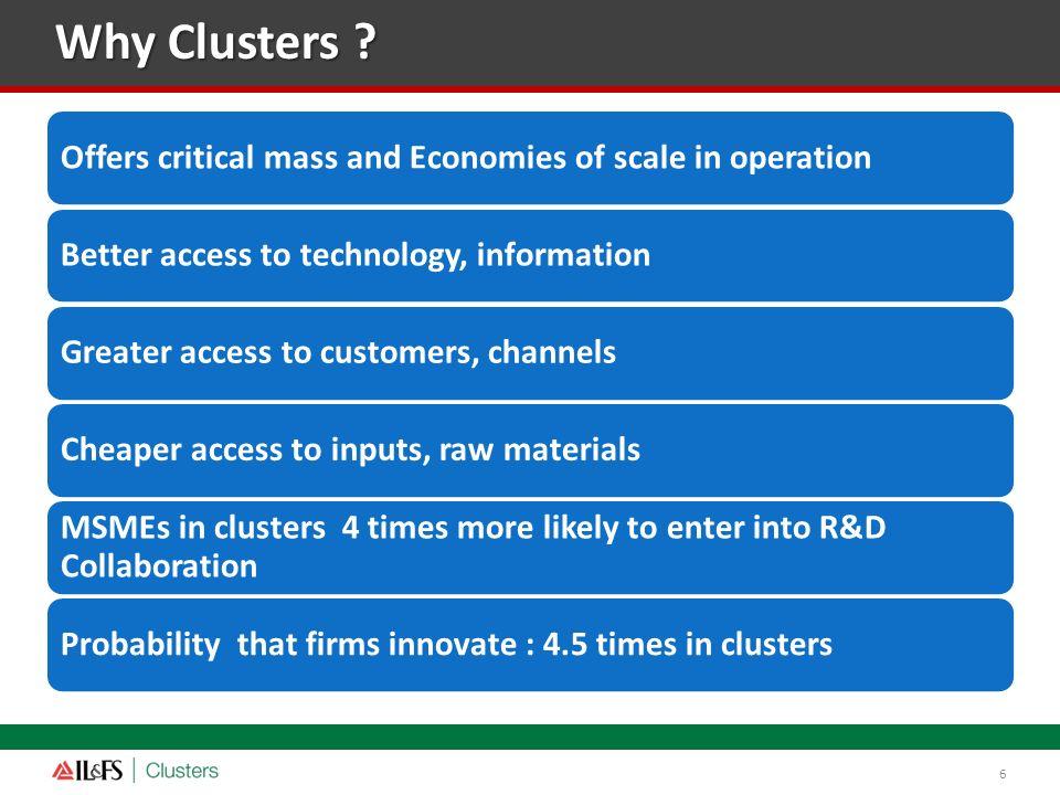 Cluster development: Learning
