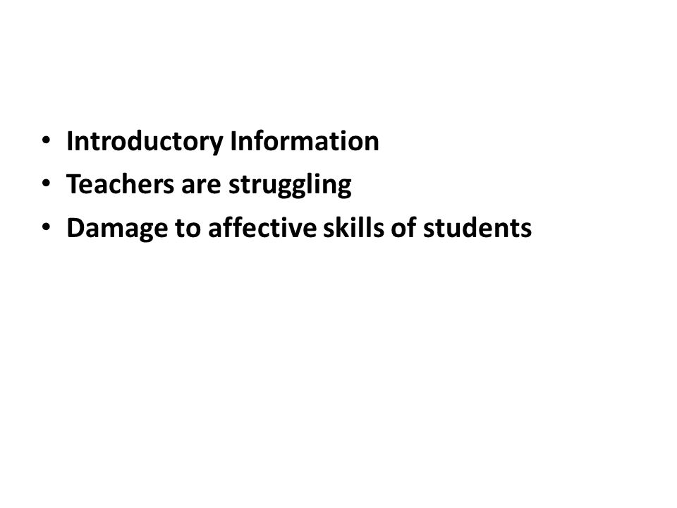 GUIDELINES FOR EDUCATORS Every child is a learner Give dignity Is the classroom ready All students can learn and succeed